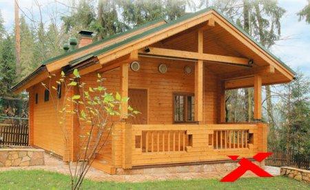 Деревянные брусовые дома и их преимущества