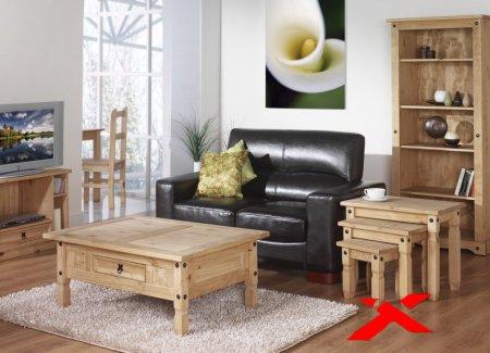 Мебель из натуральной древесины в интерьере