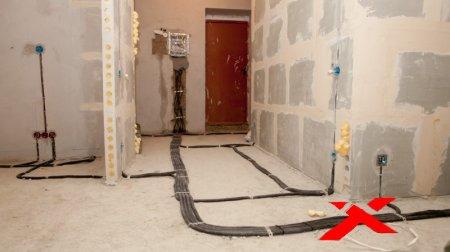 Замена электрической проводки в доме или квартире