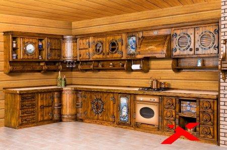 Мебель из массива дерева – роскошный интерьер в любом доме