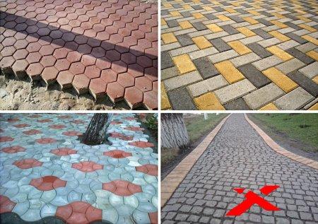 Тротуарная плитка – красота без хлопот