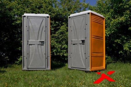Области эксплуатации и разновидности туалетных кабин