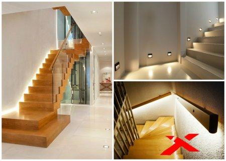 Функции лестничного освещения