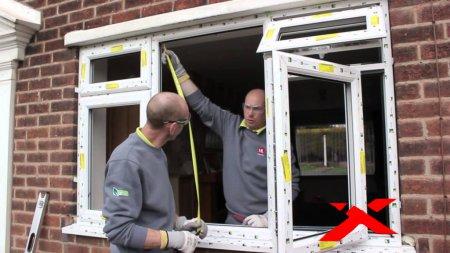 Установка пластикового окна ПВХ своими руками