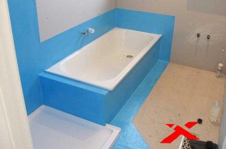 Гидроизоляция для ванной и санузла