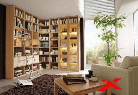 заказать шкафы в библиотеку