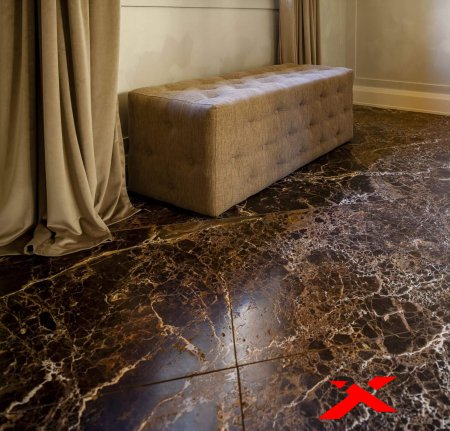 Мраморный пол – элитный и благородный камень в интерьере