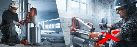 Алмазное бурение бетона: преимущетва и недостатки