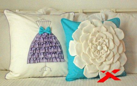 Как сделать декоративную подушку