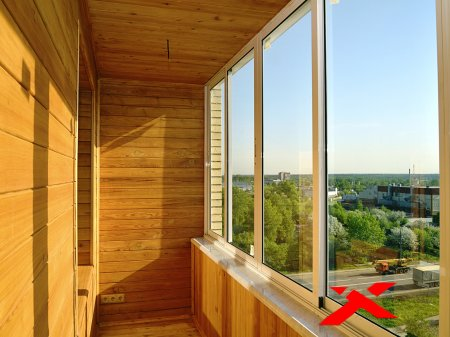 Обшивка балконов в Минске