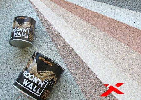 Краска с эффектом камня Siberia Rock'n'Wall